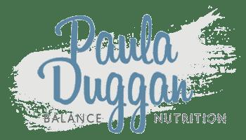 Paula Duggan Balance Nutrition logo