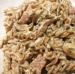 Balance Nutrition healthy Wholemeal low calorie carbonara
